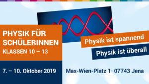 Workshop für Schülerinnen: Physik ist spannend, Physik ist überall!