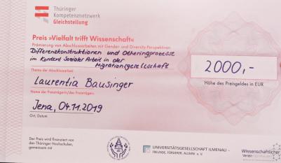 """Eröffnungs- und Abschlussveranstaltung des RMMP und Preisverleihung """"Vielfalt trifft Wissenschaft"""""""
