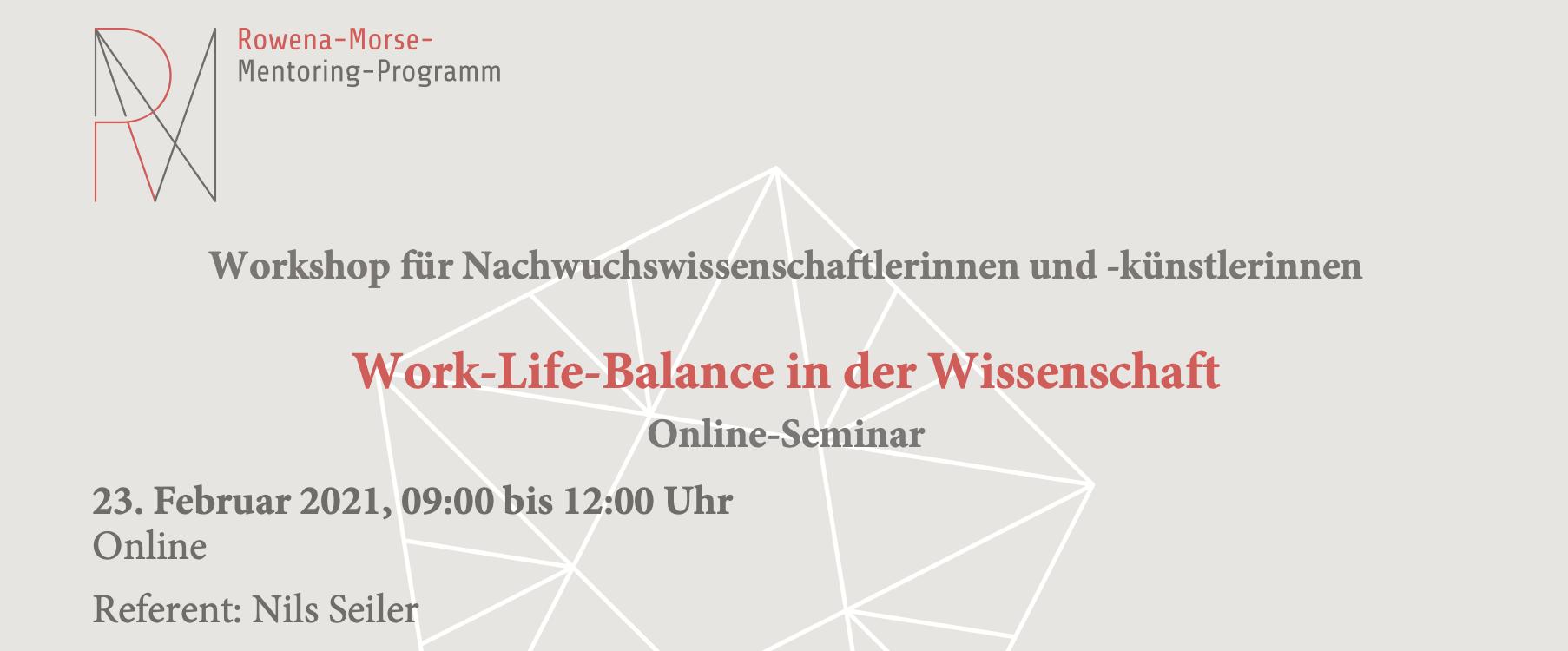 RMMP: Workshop zu Work-Life-Balance